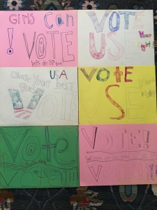 voting signs for lds activity days